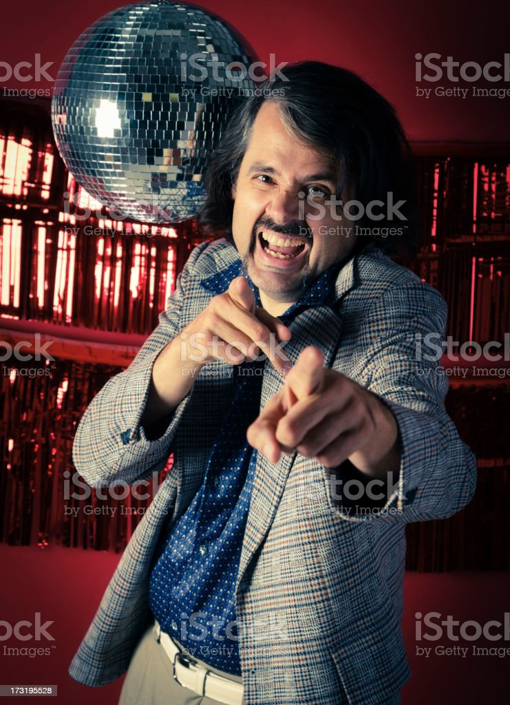 70's Guy royalty-free stock photo