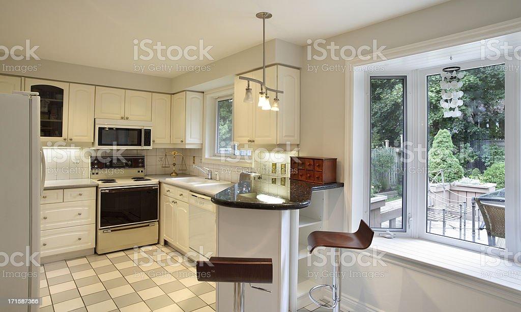 80's Kitchen stock photo