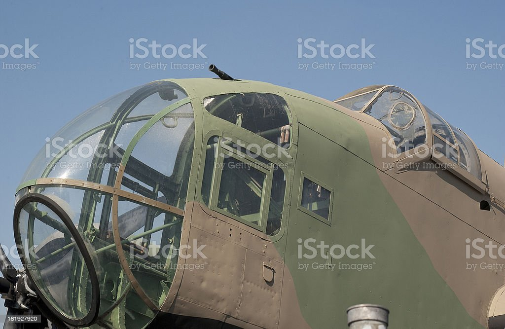 1940's Military Aircraft stock photo
