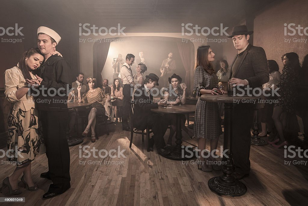 1940's Party stock photo
