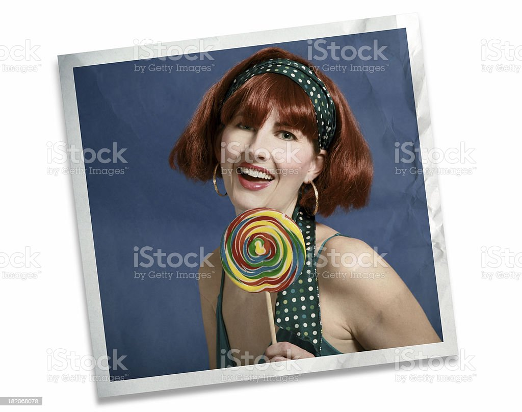 60's Photo royalty-free stock photo