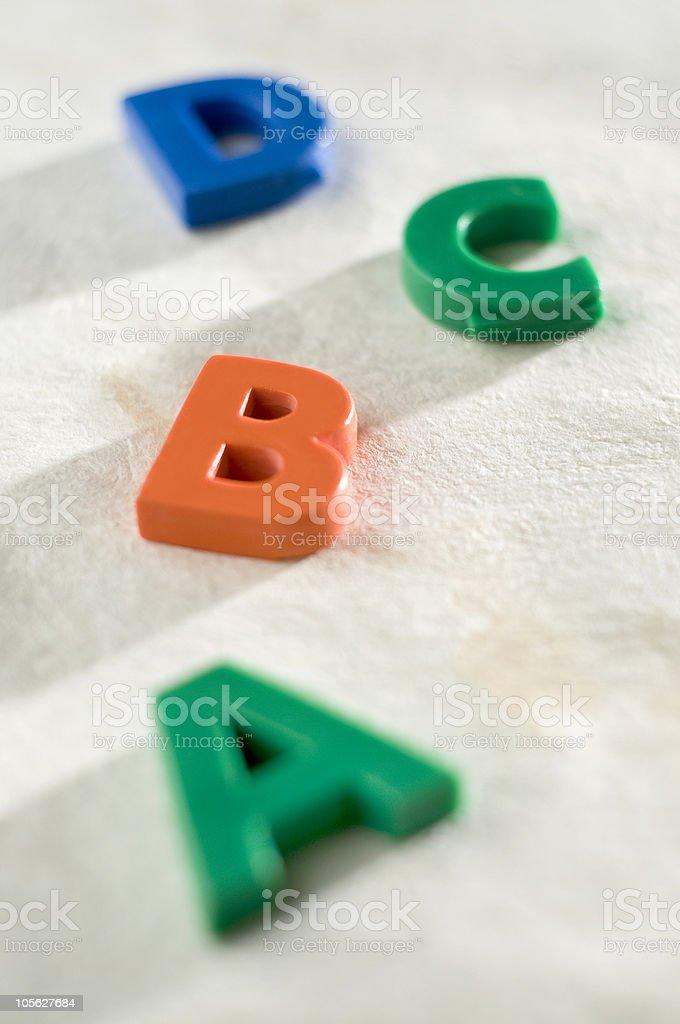 ABC. foto de stock libre de derechos
