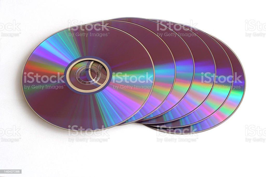 DVD's stock photo