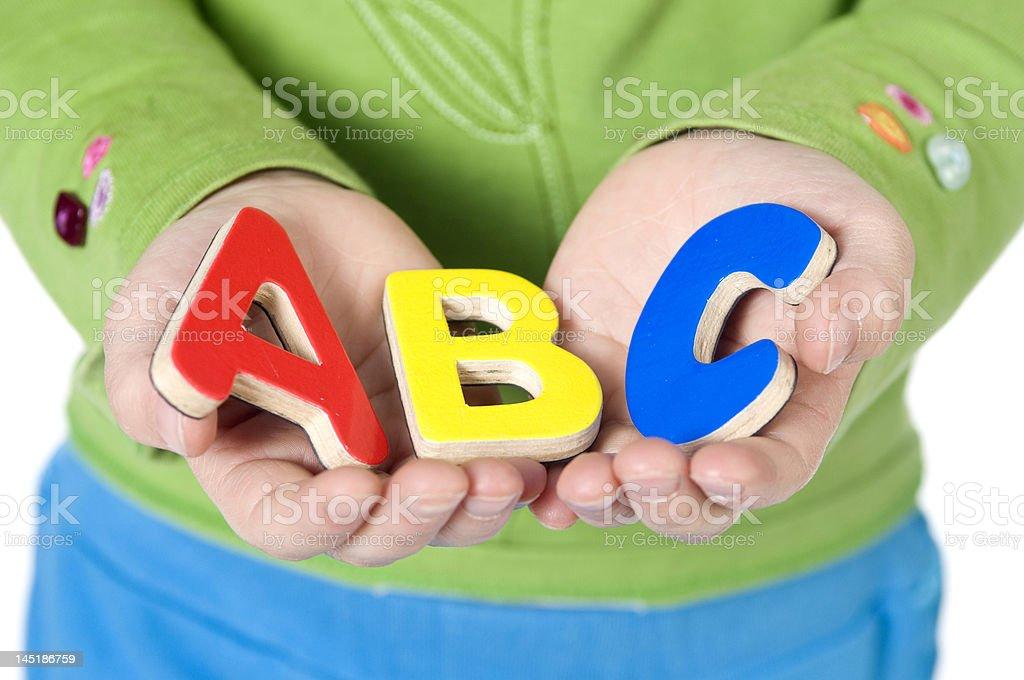 ABC's royalty-free stock photo