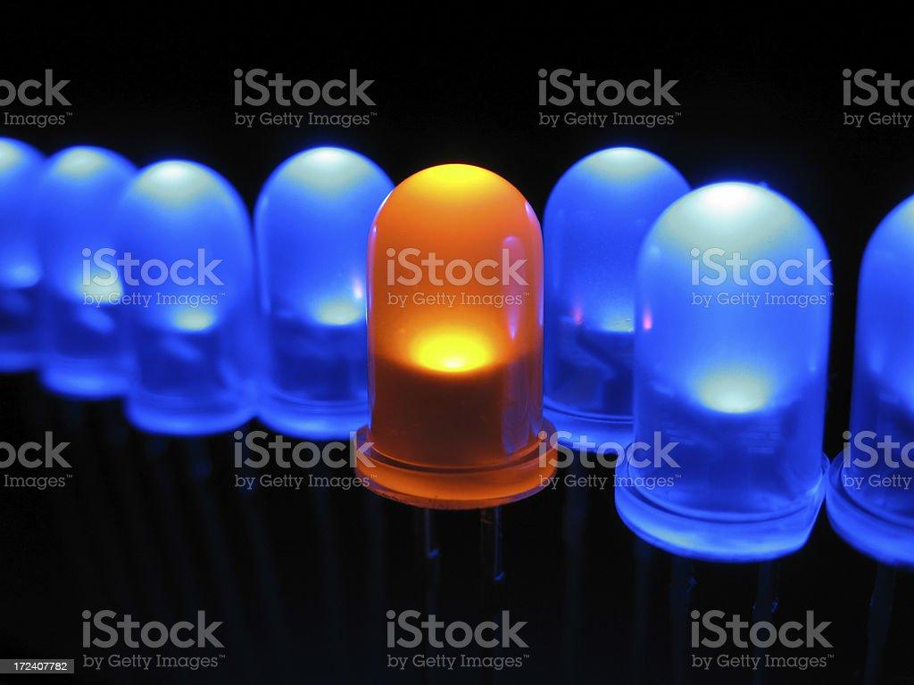 LED's royalty-free stock photo