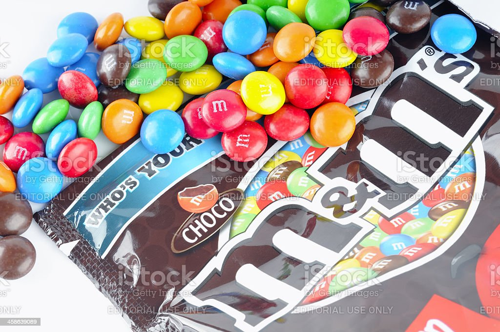 M&M's royalty-free stock photo