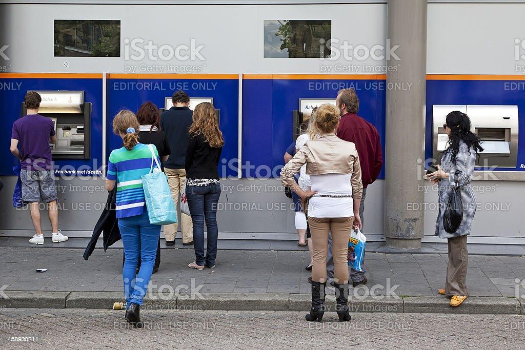 ATM's stock photo