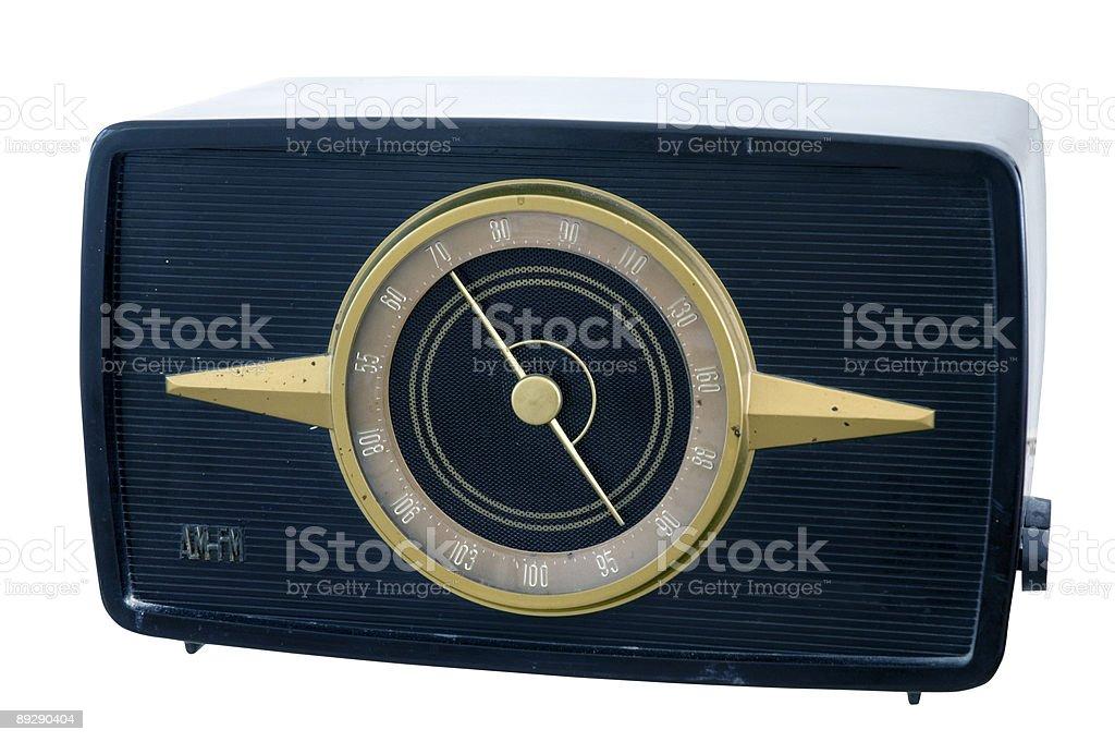 40's radio royalty-free stock photo