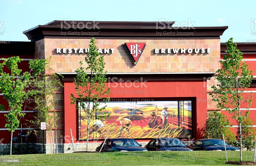BJ's Restaurant and Brewhouse stock photo