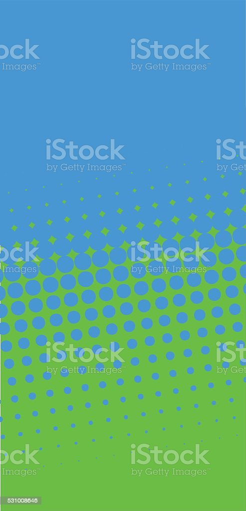 80's Revival Halftone Gradient stock photo