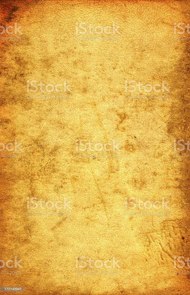 1950's stained blank paper background royalty-free stock photo