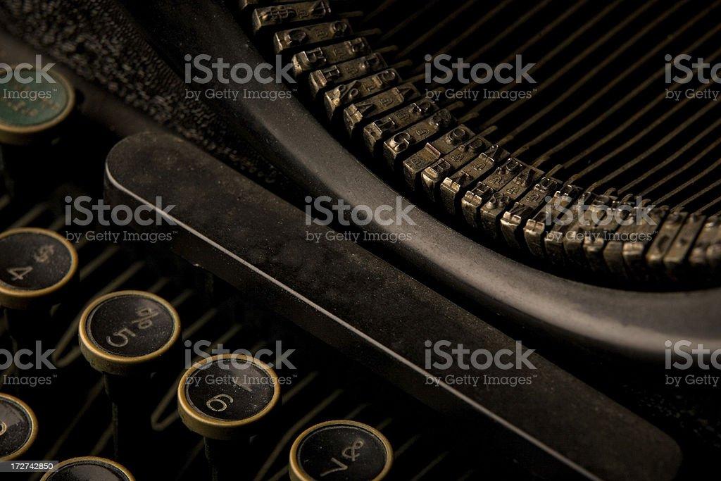 1930's Typewriter royalty-free stock photo