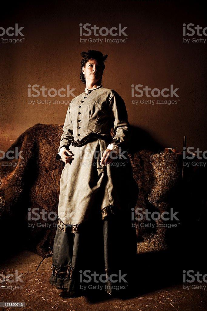 1800's Woman royalty-free stock photo