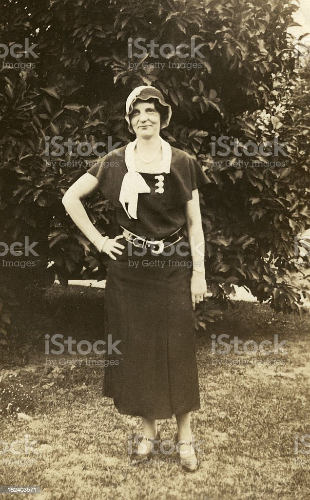 1930's woman..VIEW SIMILAR IMAGES stock photo