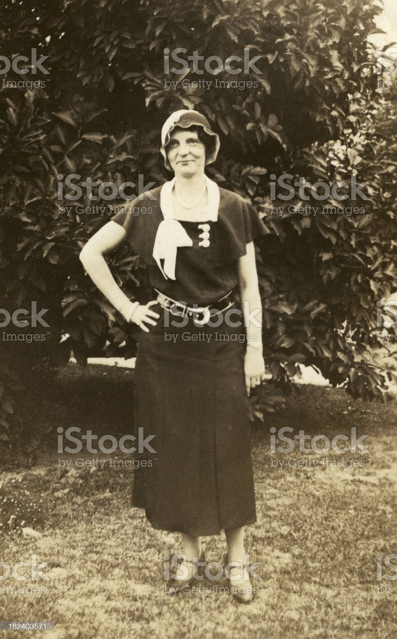 1930's woman..VIEW SIMILAR IMAGES royalty-free stock photo