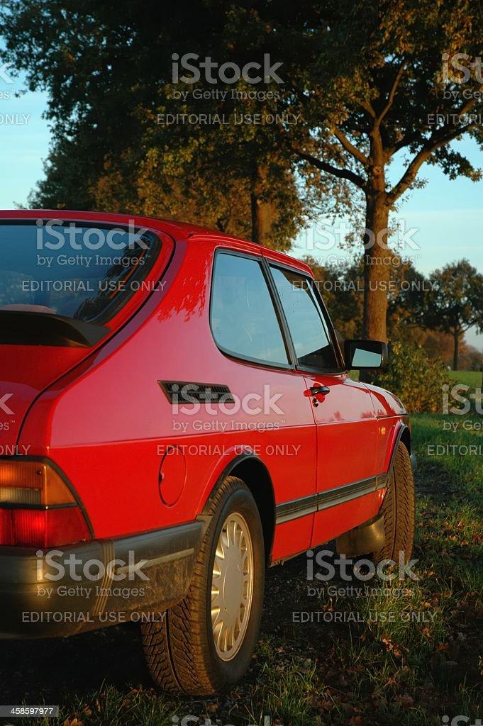 Saab 900 Turbo stock photo