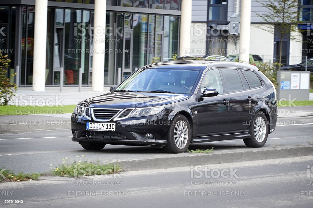 Saab 9-3 royalty-free stock photo