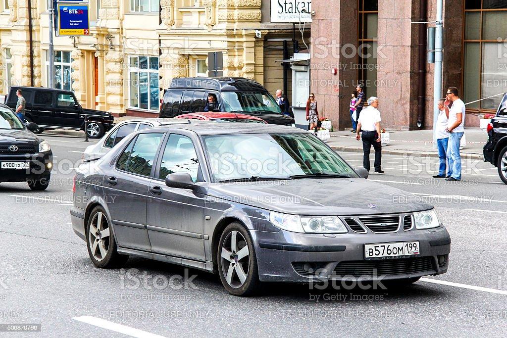 Saab 9-5 stock photo