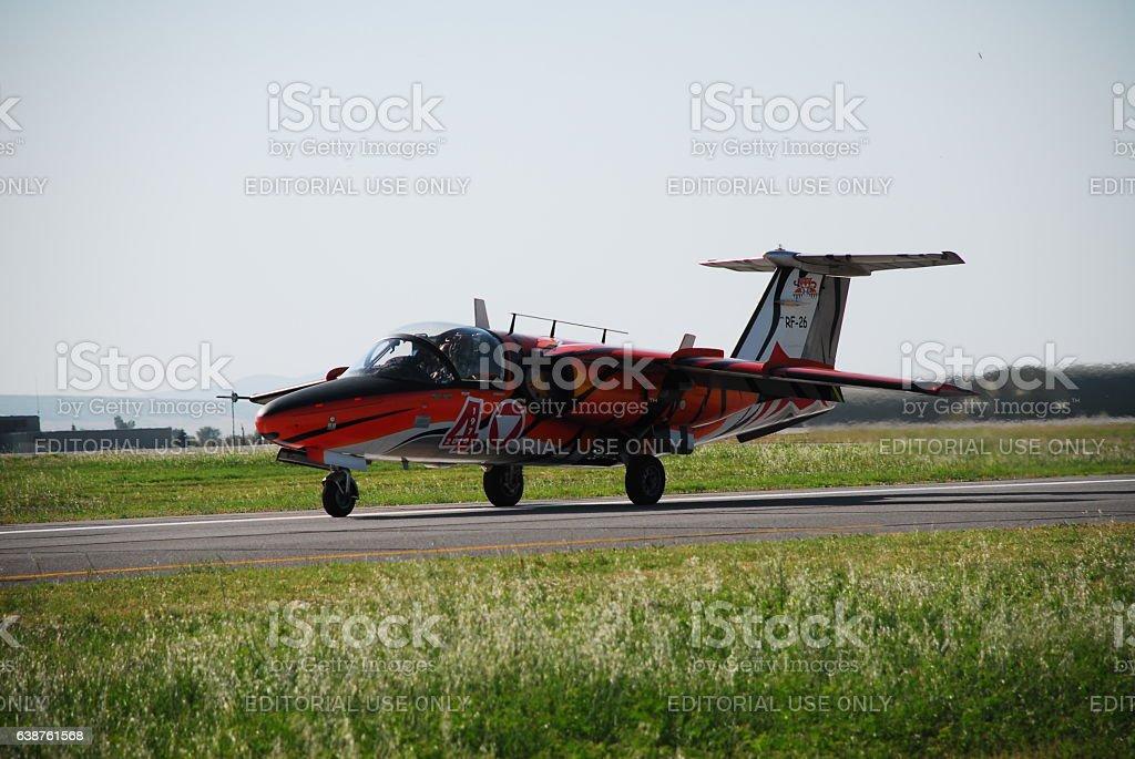 Saab J105 OE stock photo