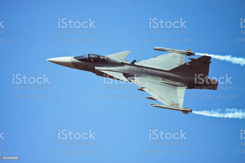 Saab JAS 39 Gripen stock photo