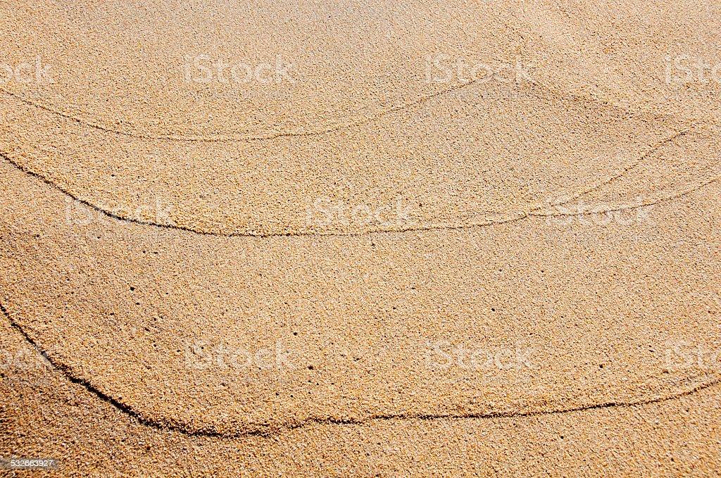 sable d'une plage stock photo