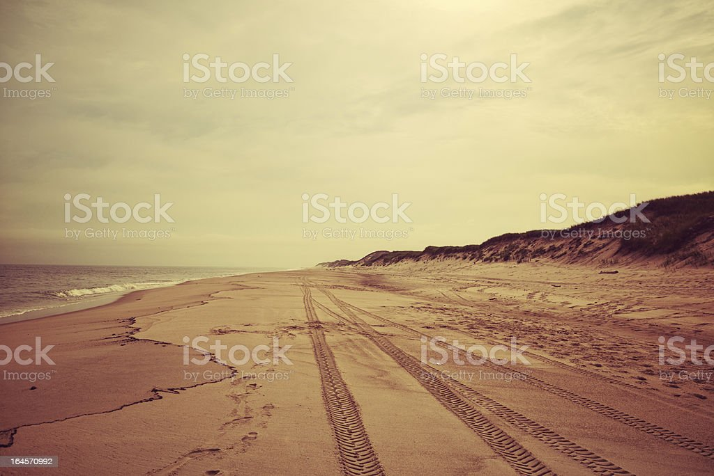 Sable Island Beach royalty-free stock photo