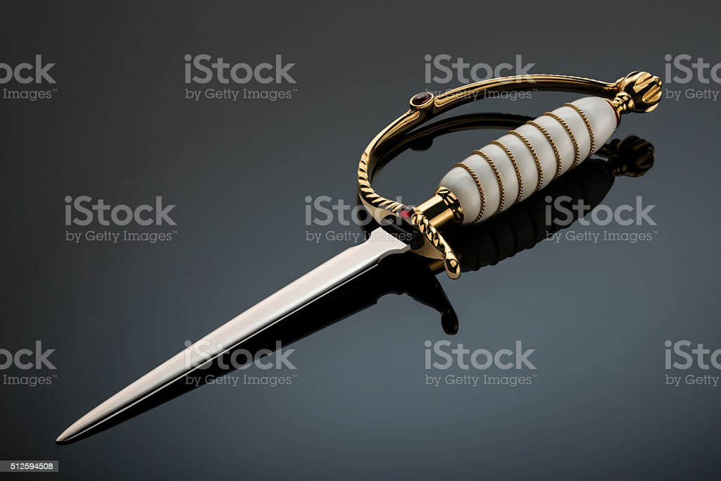 Sabre stock photo