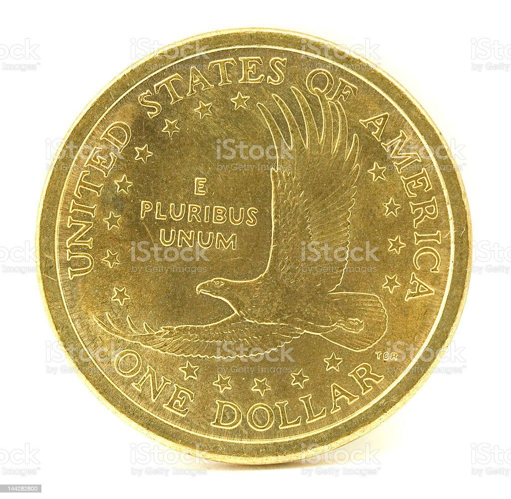 Sacajawea Dollar Coin stock photo