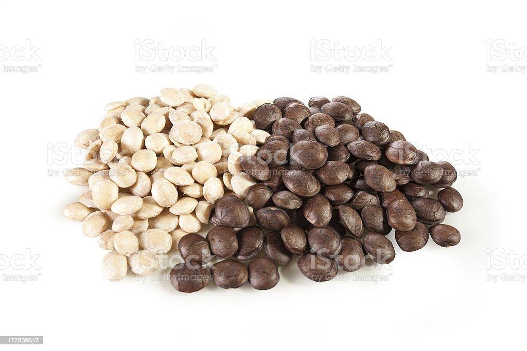 Sacha-Inchi peanut royalty-free stock photo