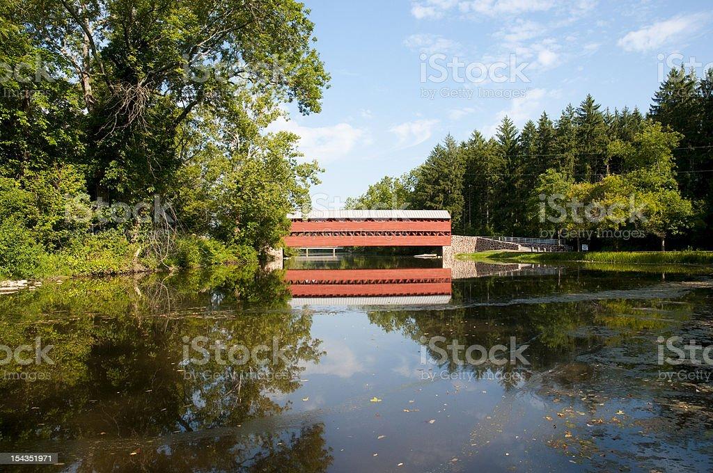 Sachs Bridge stock photo
