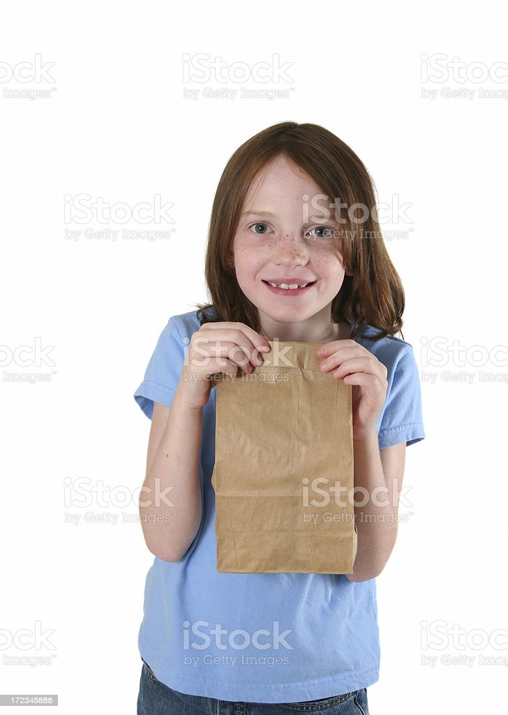 Sack Lunch Today! royalty-free stock photo