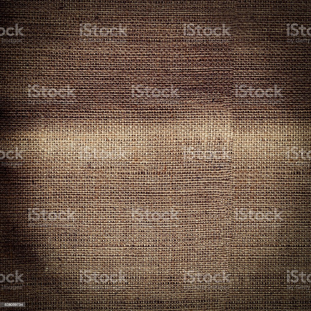 sack with texture as background stock photo
