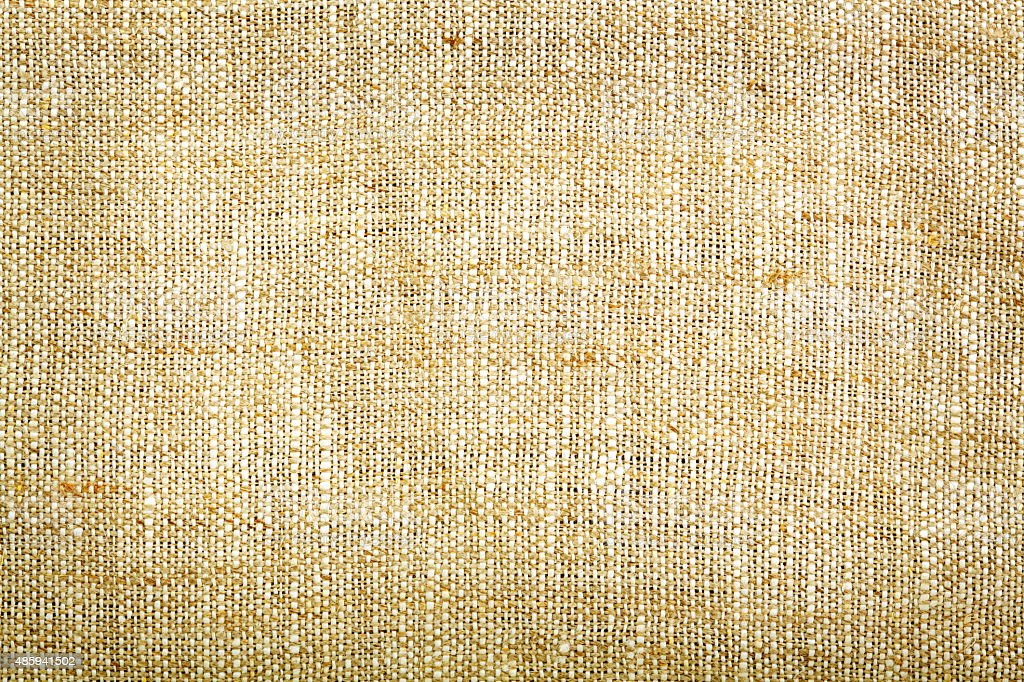 Sackcloth background stock photo
