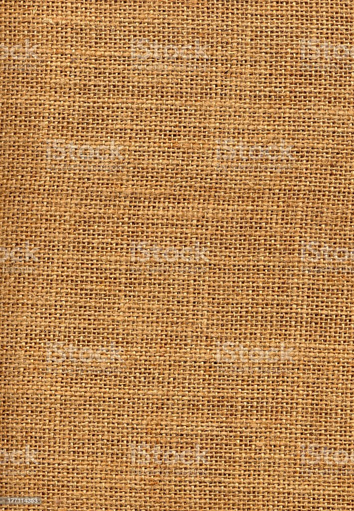 Sackcloth material royalty-free stock photo