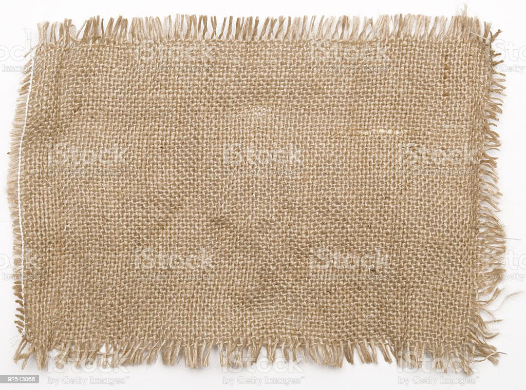 sackcloth royalty-free stock photo