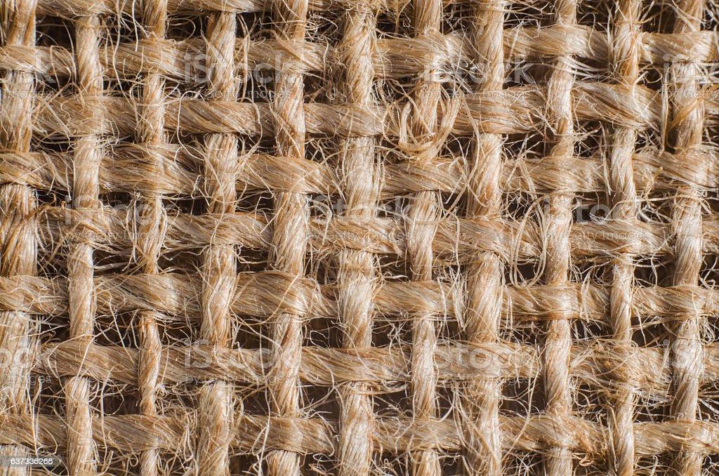 Sackcloth texture background stock photo