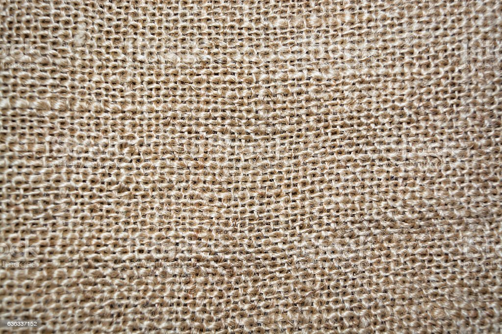 Sackcloth texture for background stock photo
