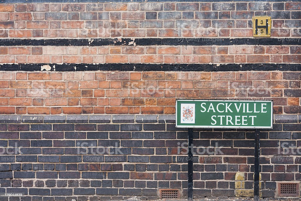 Sackville Street royalty-free stock photo