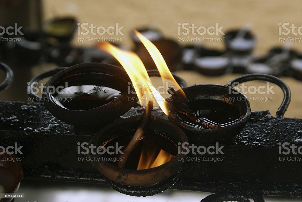 Sacral flame royalty-free stock photo