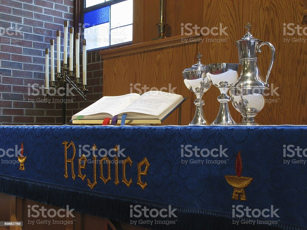 Sacrament of the Altar royalty-free stock photo
