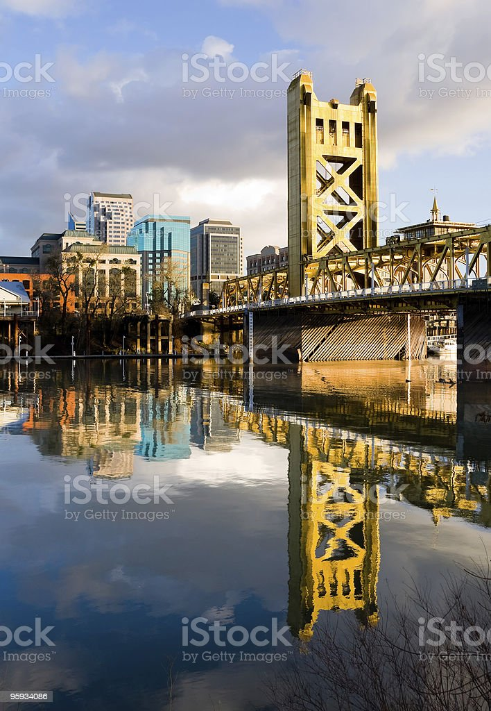Sacramento California downtown stock photo