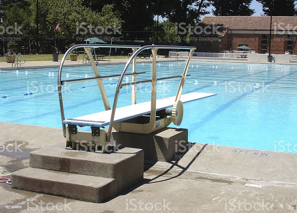 Public Swimming Pools With Diving Boards sacramento california public swimming pool diving board stock