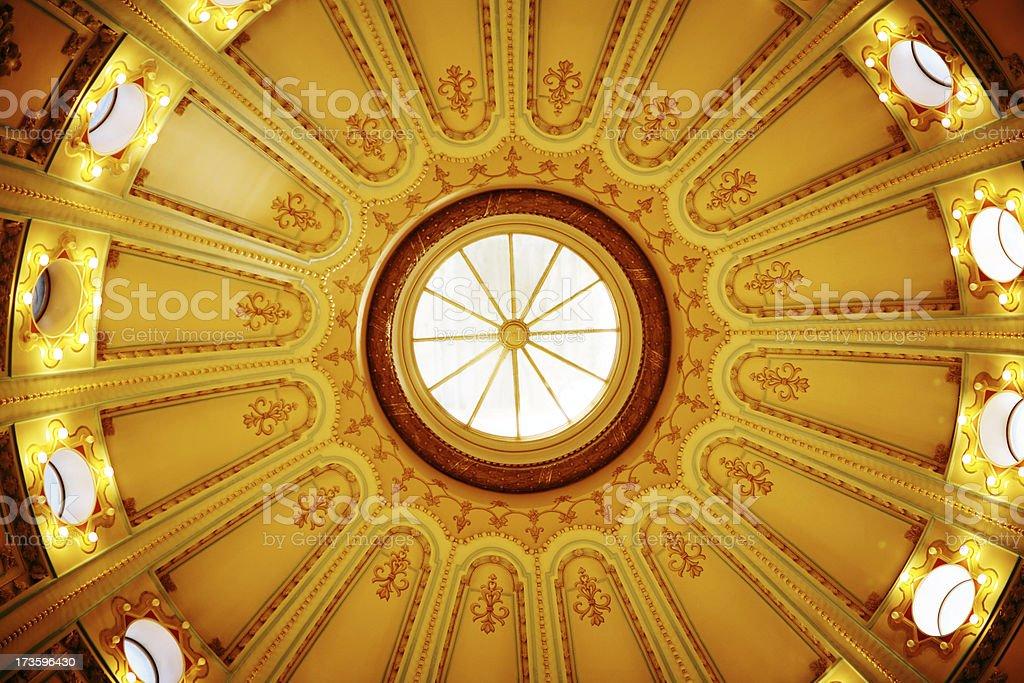 Sacramento Capitol Rotunda royalty-free stock photo