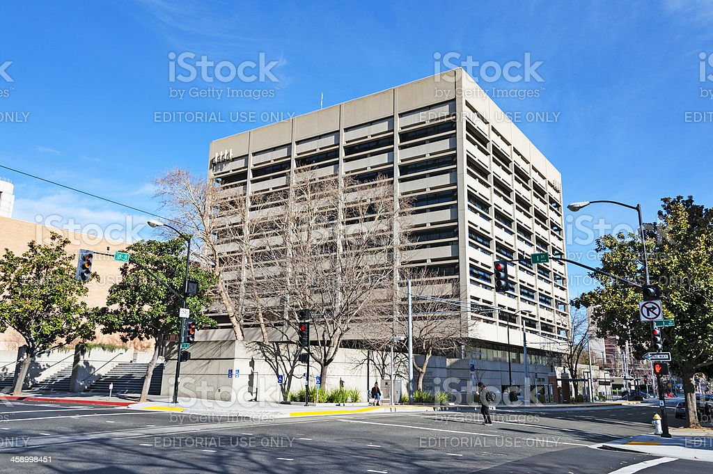 Sacramento County Office building royalty-free stock photo