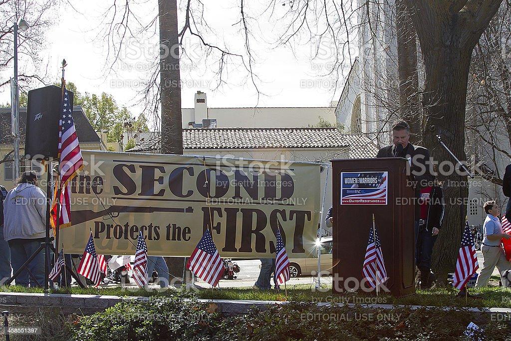 Sacramento Day Of Resistance royalty-free stock photo
