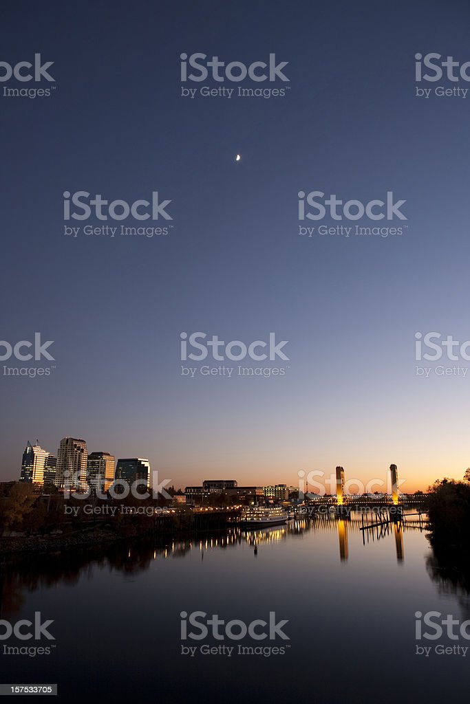 Sacramento downtown stock photo