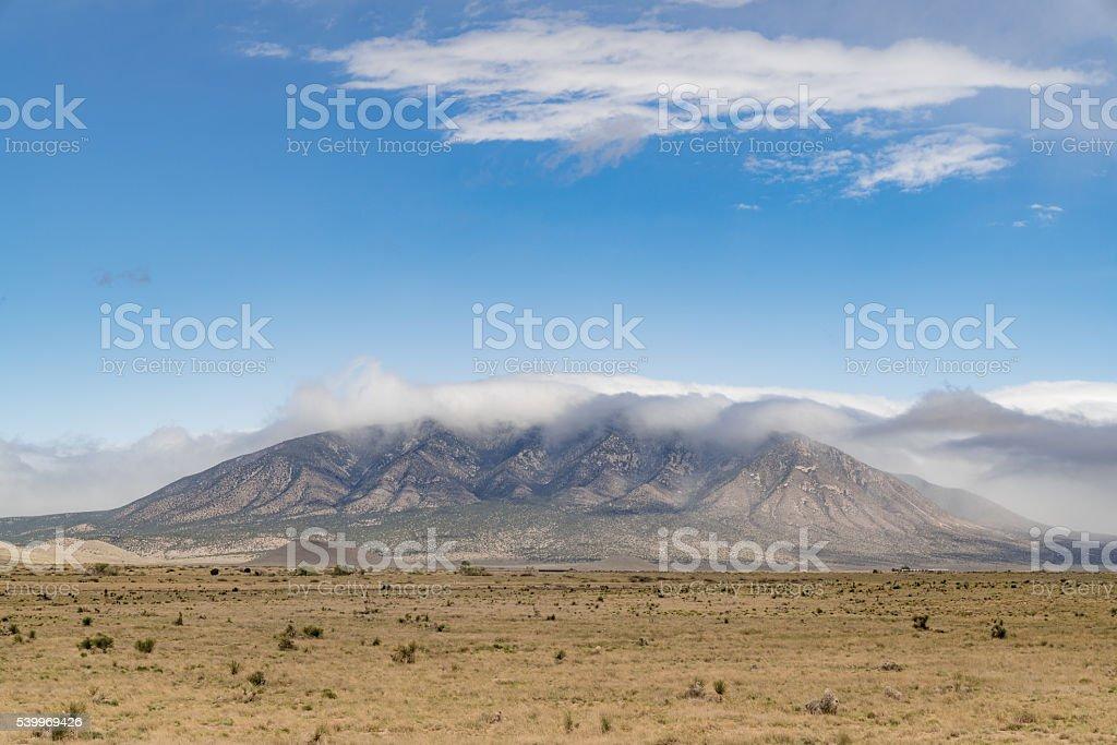 Sacramento Mountains Lincoln County New Mexico USA stock photo