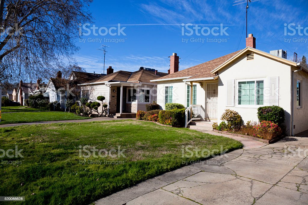 Sacramento Old Neighborhood stock photo