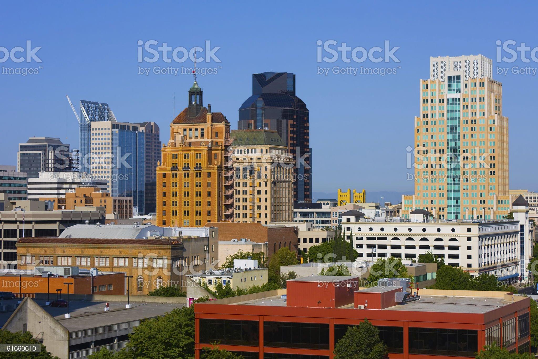 Sacramento royalty-free stock photo