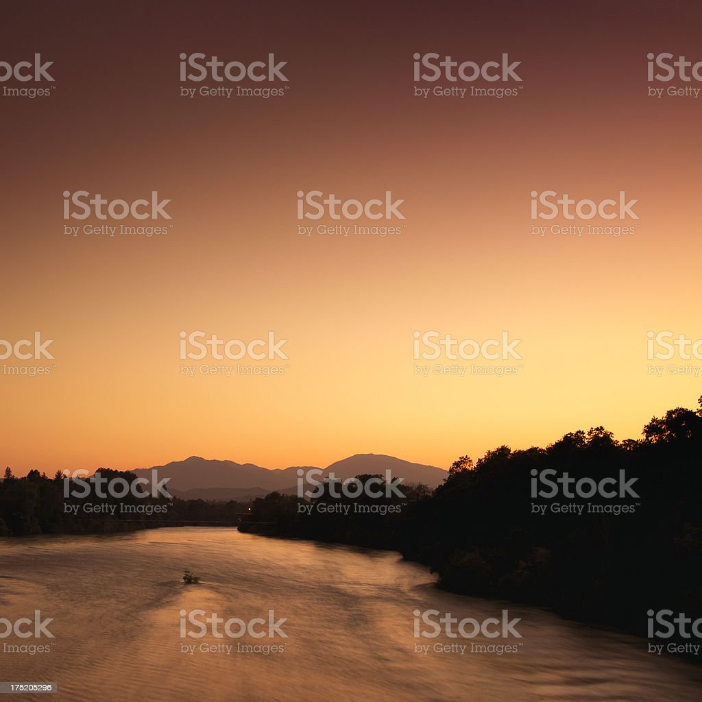 Sacramento River stock photo